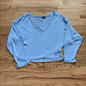 Out from Under Blue Sweater Size M